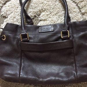 Kate Spade brown pebble bag